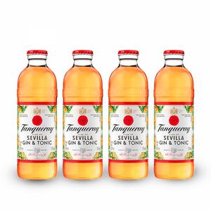 Gin Tanqueray Sevilla & Tonic Pack C/4X275 ml